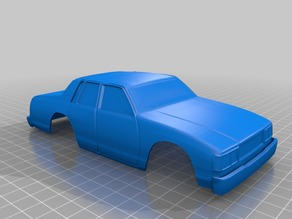 XMODS 83 Chevrolet Caprice Body Shell