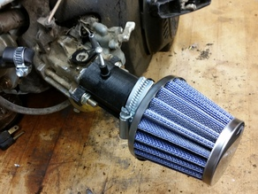 Predator 212cc Intake - Honda Clone Intake Also subaru engines