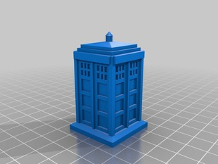 Tardis - Flat Bottom