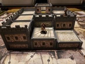 Modular Buildings for Zombicide Black Plague