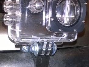 Polaris Edge Touring front bumper mount for SJ4000 camera