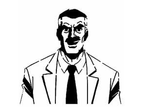 James Jonah Jameson stencil