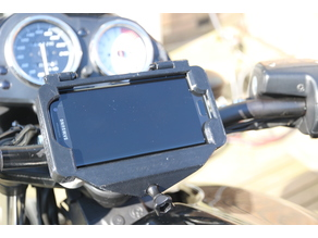 Galaxy S7 Edge Phone Mount for MotorCycle