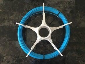 Extended Unlockable Loose Filament Spool (Push Plastic Sample)