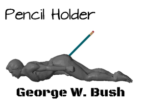 Pencil Holder of George W. Bush