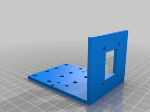 Extruder Holder Carriage Mounting Bracket