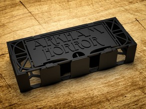Arkham Horror - Card Box (Custom Cover)
