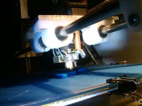 Quick-disassembly for buda hot end/extruder/x-carriage