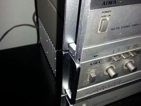 AIWA modular music equipment side handler