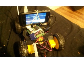 BeetleBot! 3D printed Android rover.