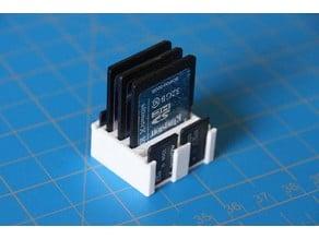 Simple, very simple, 4x4 card holder