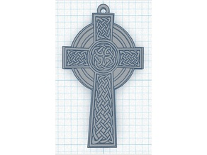 A Celtic Cross Pendant or Keychain