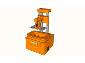 FDM printed SLA-Printer by TOS
