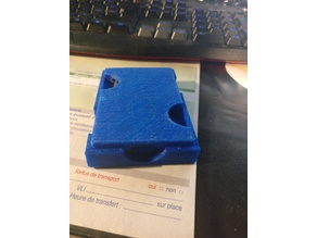 CF and SD cards holder
