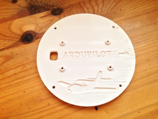 QuadCopter Top Plate for Ardupilot