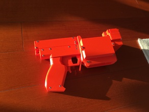 Nerf Semi-Automatic Brushed Flywheel Blaster