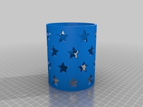 Stars Candle Sleeves