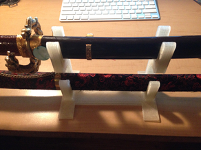 Two Tier Samurai Sword Stand v2.1