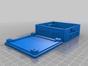 Professional SimpleRTK GNSS Case - Compatible with ArduSimple SimpleRTK2B (v1.0) RTK GPS Board w/ u-blox ZED-F9P