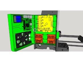 Anet A8 Electronics Box (xTHOR)