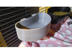 Hanging Small Pet Water and Food Bowl