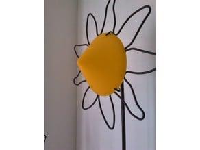 Lamp shade sunnflower