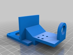 E3D Extruder Plate with Extra Support