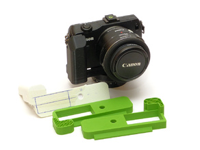 Canon EOS M grip Arca Swiss battery door
