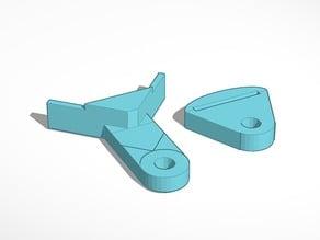 Square measuring tool for tape measure