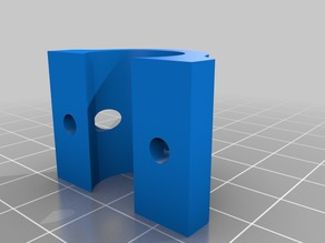 Prusa I3 Y Plate Bearing Support Braces For LM8UU with Solidworks 2014 source