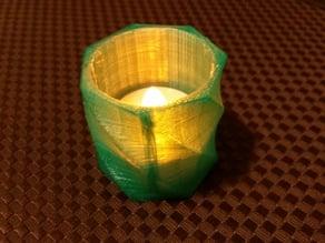 LED tea light candle holder