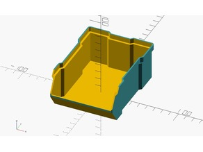 Yet another parametric stackable box