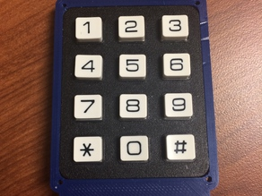 Sparkfun 12 Button Keypad