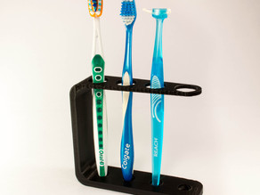 Quad Toothbrush Holder