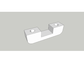 Cable Clip with holes for screws