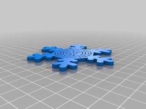 Westworld Maze Snowflake