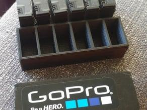 GoPro battery holder (6pc)