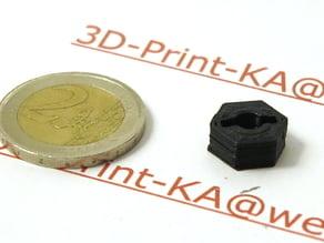 RC-car wheel adapter 1/10 1:10