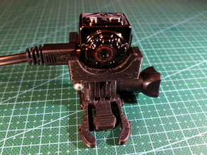 SQ8 camera mount with GoPro adapter