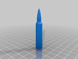 5.56 NATO bullet replica