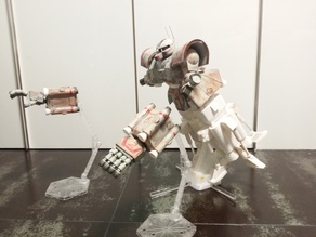 1:48 MSN-01 Psycommu Test High Mobility Type Zaku II ver.Thunderbolt