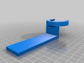 Popsocket holder for airplane table