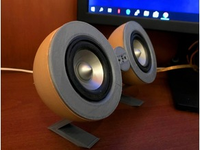 Mini Desktop Speakers