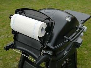 Weber Q3200 Grill paper, aluminium foil  roll holder