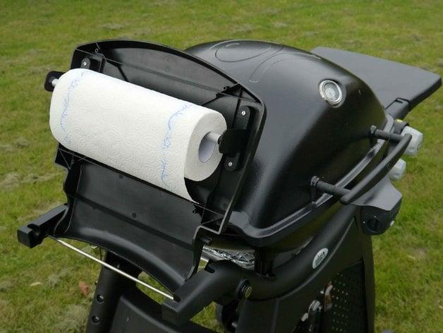 weber q3200 grill paper aluminium foil roll holder by. Black Bedroom Furniture Sets. Home Design Ideas