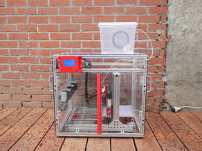 Heated polycarbonate 3d printer enclosure