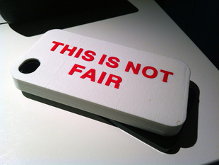 Not Fair iPhone 4 Case