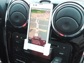 Phone CD tray holder