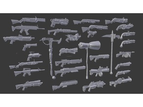 Fornite Assorted Weapons