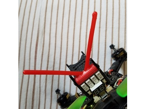 Holybro Shuriken X1 antenna mount